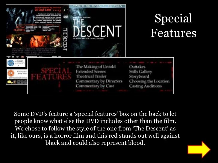 dvd back cover template