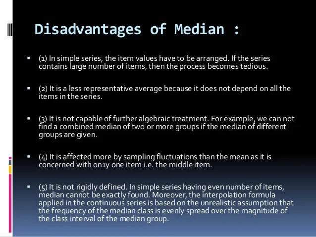what if the median is odd