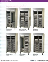 Medical Storage Cabinets and Carts