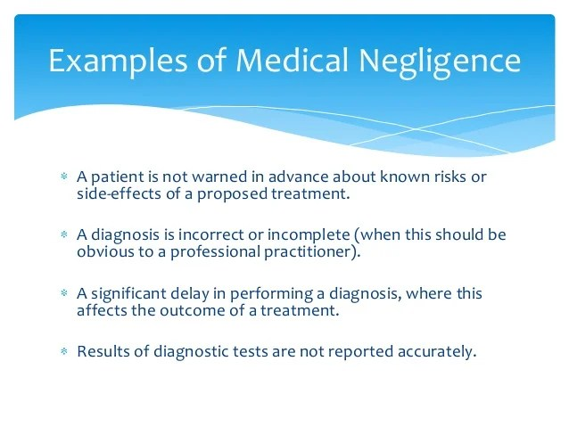 Medical Negligence Claims in Australia