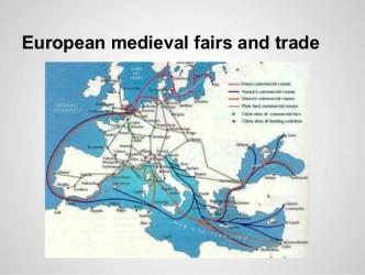 medieval cities trade growth european fairs urban