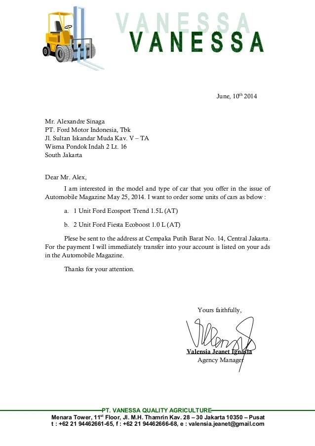 Cover Letter Addresses