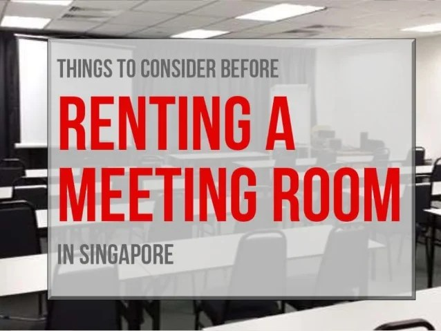 Meeting Room Rental In Singapore  Rent Wellfurbished
