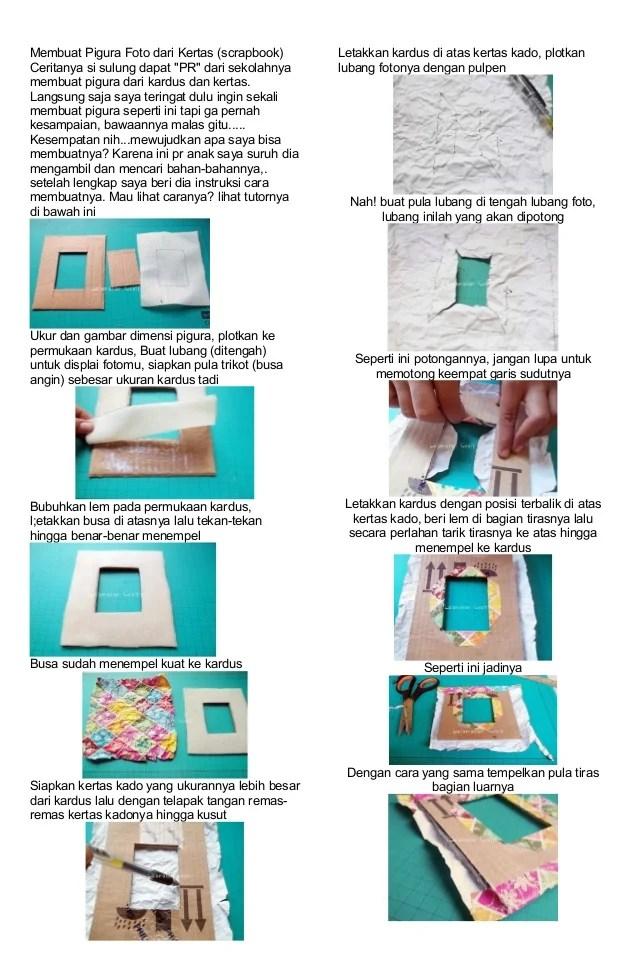 Cara Membuat Pigura Dari Kardus : membuat, pigura, kardus, Membuat, Pigura, Dengan, Bahan, Bekas