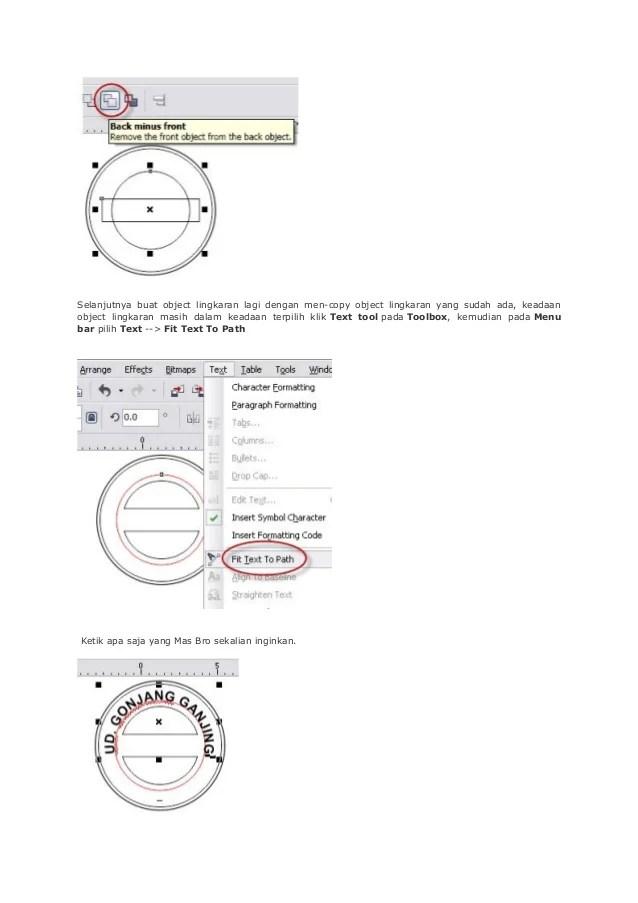 Cara Buat Stempel Di Corel : stempel, corel, Membuat, Stempel, Palsu, Corel