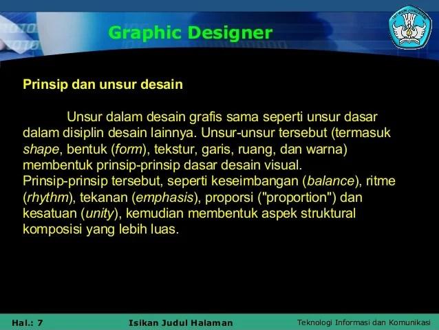 Prinsip Tata Letak Desain Grafis Ppt Menata Rapi Resep Kuini