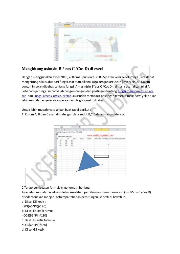 Rumus Log Di Excel : rumus, excel, Menggunakan, Rumus, Logaritma, Excel