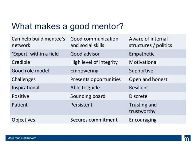 Mentoring Training Oct 2013