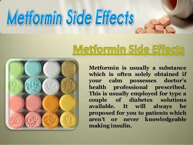 side effects of metformin - DriverLayer Search Engine