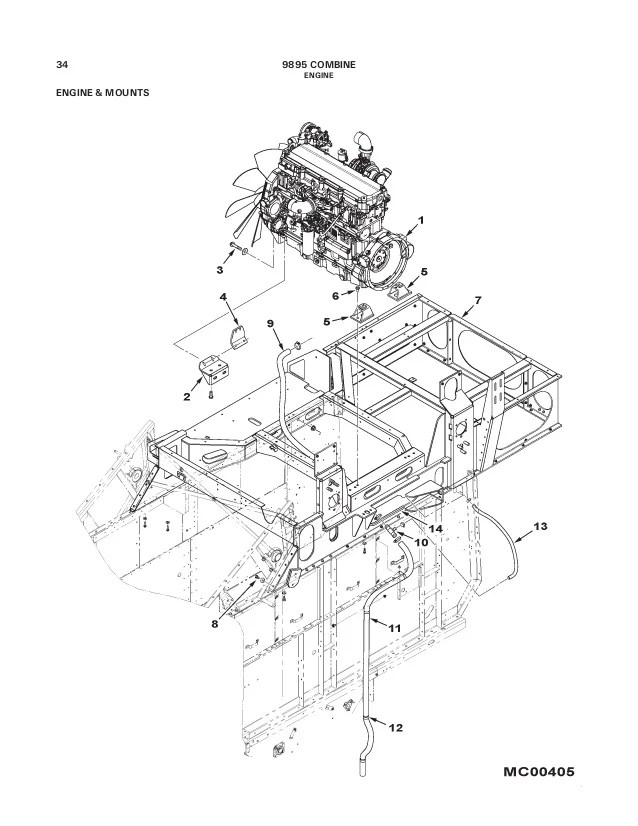Massey Ferguson 253 Parts Diagram