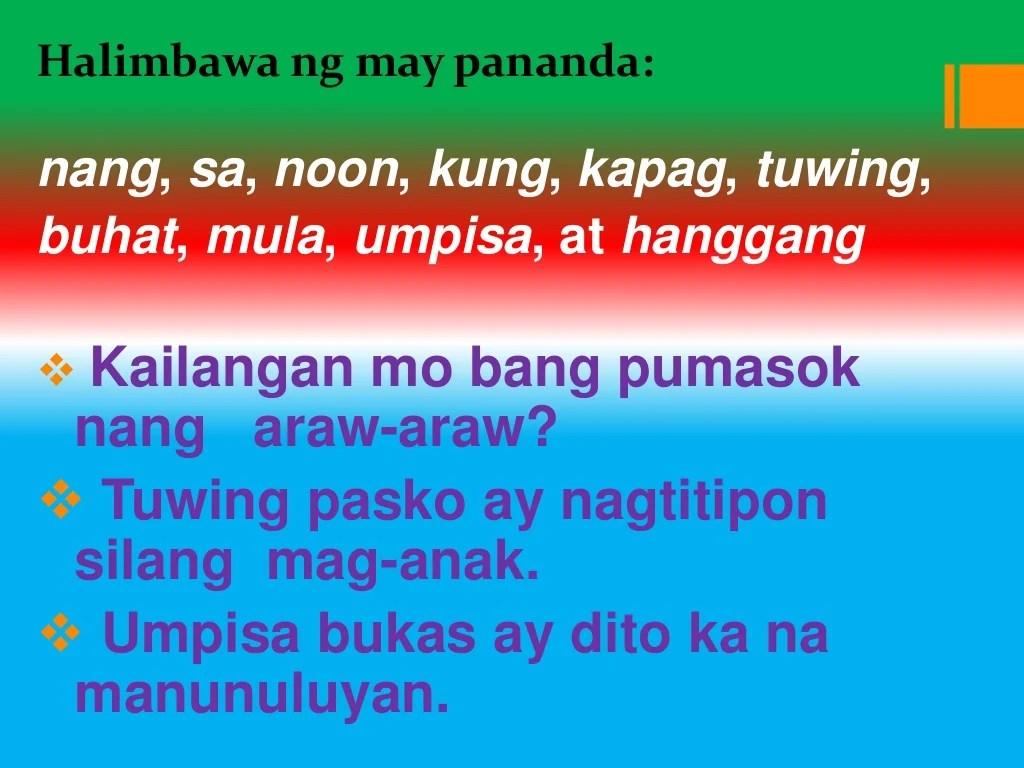 Mga Uri Ng Pang Abay