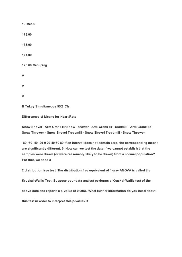MGMT 305 CHAPTER 14a EXERCISES