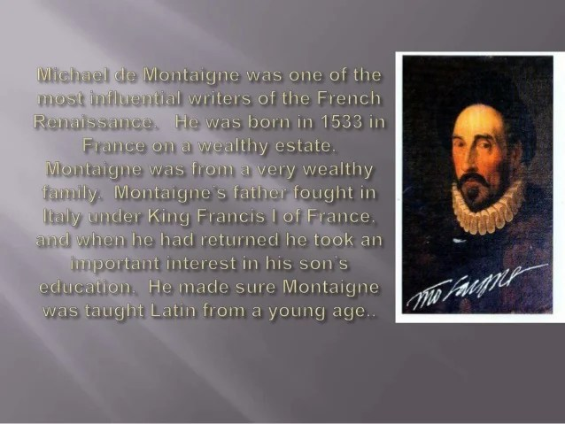 Image result for Michel de Montaigne