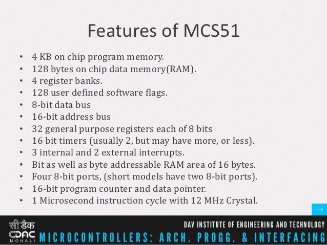 Microcontroller Bits And Bytes