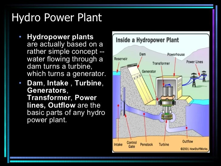 Micro hydro power plant