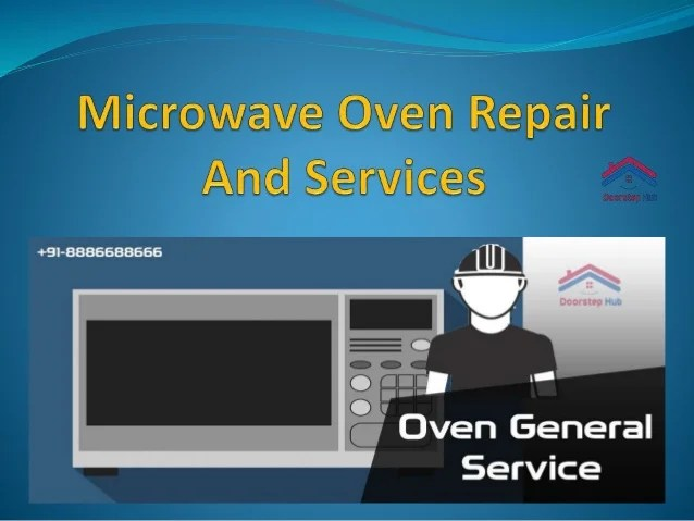 best microwave oven repair services we