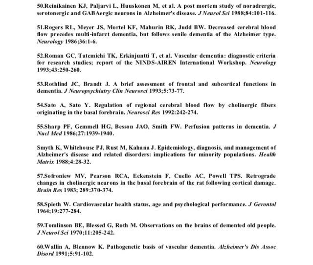 Munoz Dg The Pathological Basis Of Multi Infarct Dementia