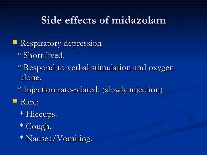 Midazolam in er 1