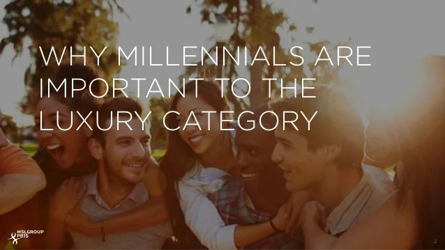 Why Millennials Are Important To