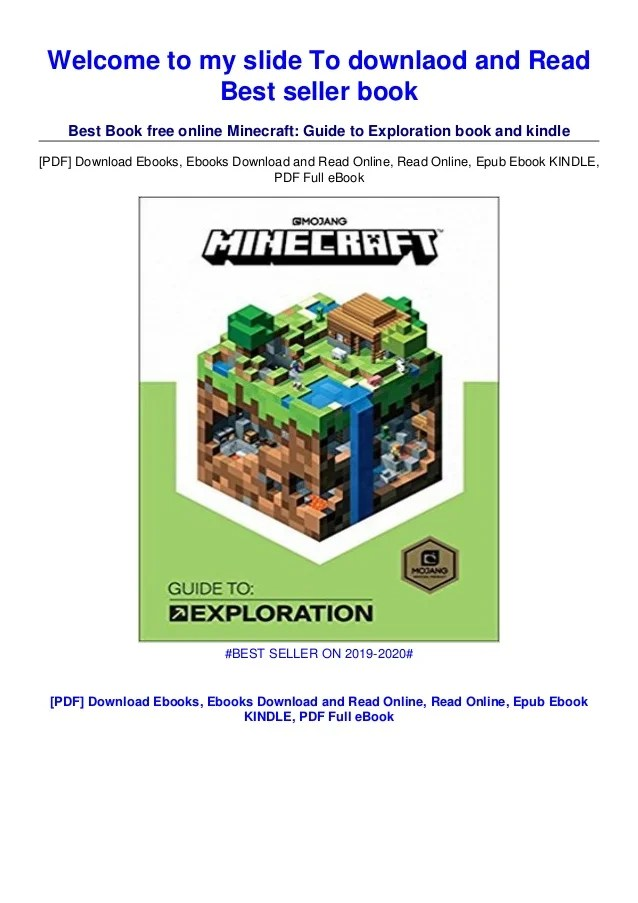 How To Zoom Out In Minecraft : minecraft, Minecraft:, Guide, Exploration, Audiobook, Download, Online, Audiobooks