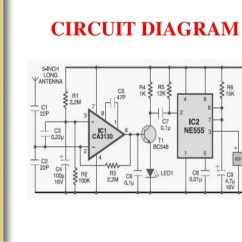 Dld Mini Projects Circuit Diagram 2005 Ford E350 Wiring Project On Cellphone Detector 9