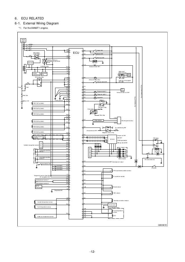 Mitsubishi Truck Wiring Diagram : 31 Wiring Diagram Images