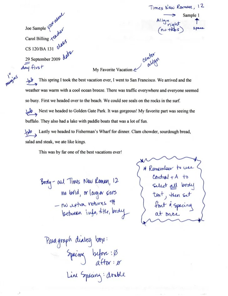 Mla Format For Writing Research Papers – Best Essay
