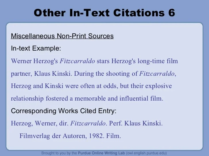 Example Of Research Paper Citations