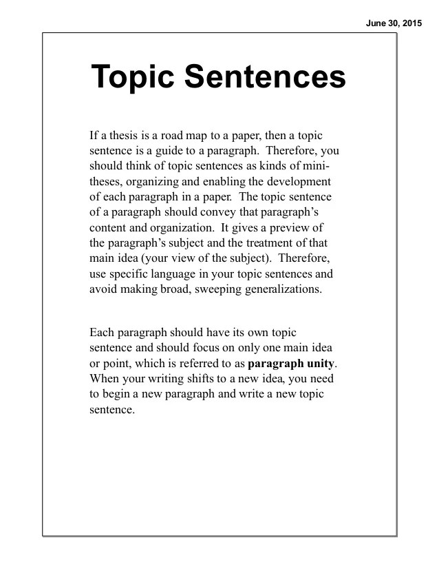 Introduction Sentences For Essays 7 2 Coordination And Subordination