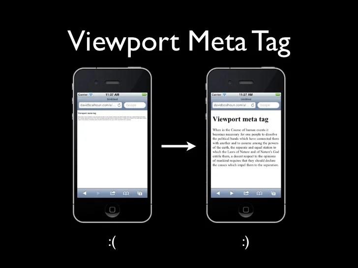 Mobile HTML CSS And JavaScript