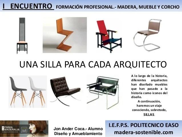 Mobiliario arquitectos