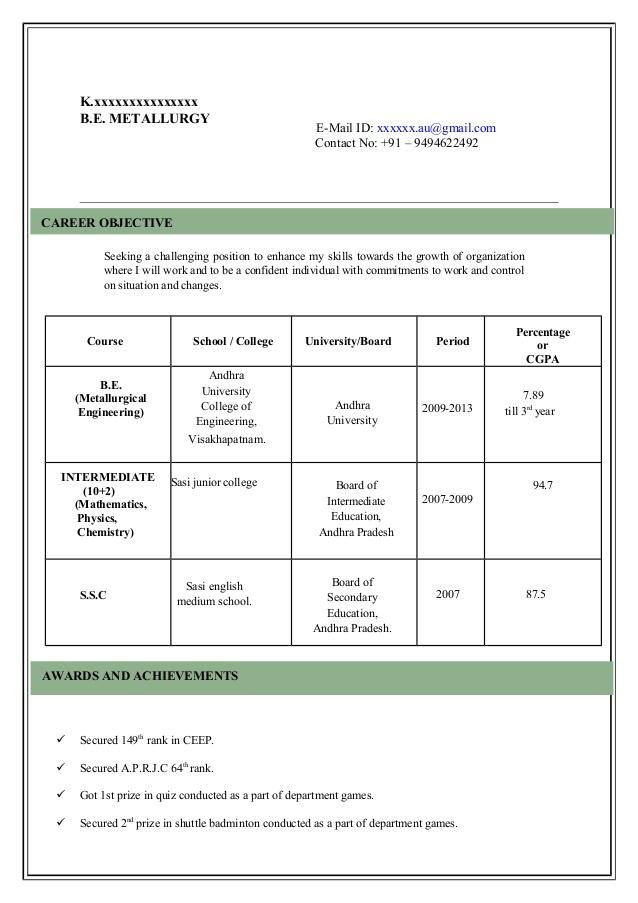 Cv Model Document Sample Customer Service Resume