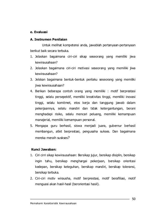 Modul 1-karakteristik-kewirausahaan - SlideShare