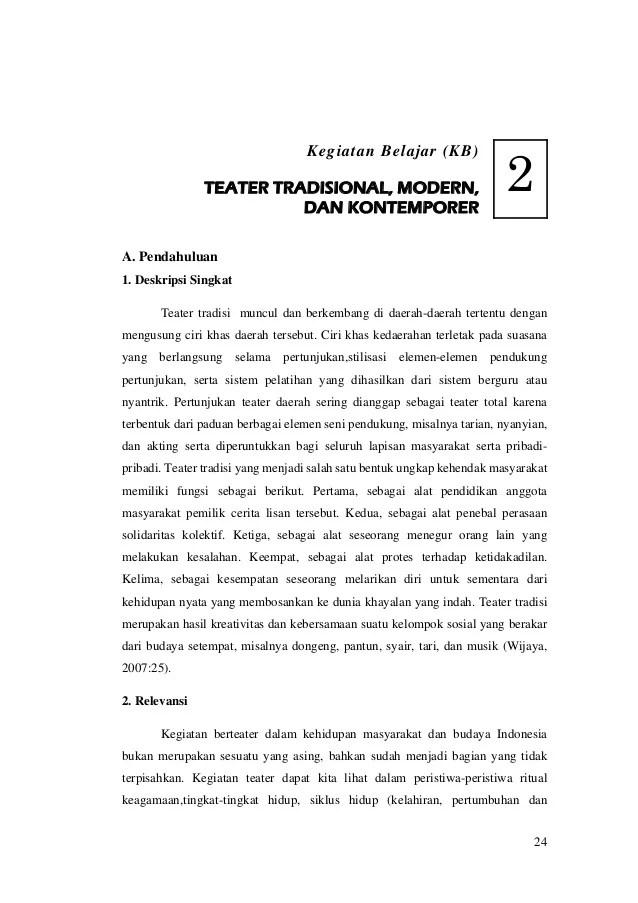 Ciri Ciri Teater Kontemporer : teater, kontemporer, MODUL, BUDAYA, TEATER, TRADISIONAL,, MODERN,, KONTEMPORER