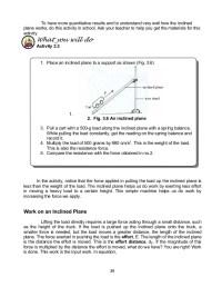 Math Skills Worksheet Work And Energy Answers - work ...