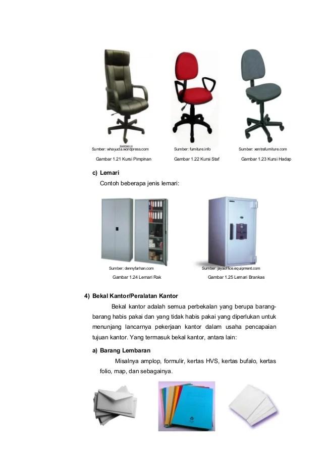 Peralatan Kantor Yang Habis Pakai : peralatan, kantor, habis, pakai, Sarana, Prasarana, Kantor, Berbagi, Informasi