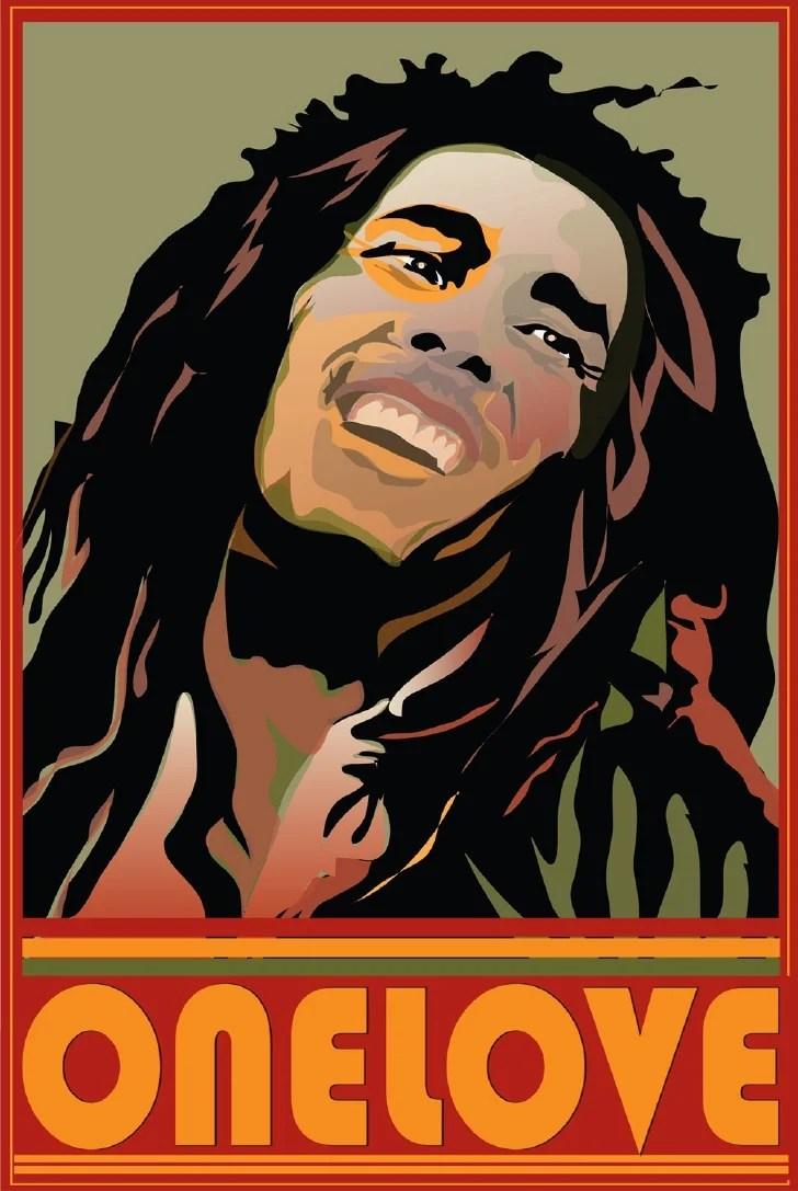 Mofo Bob Marley One Love