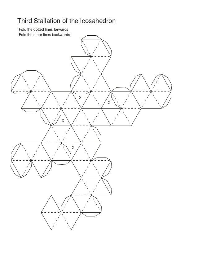 Net Great Rhombihexacron