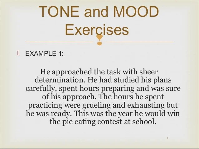 Pin Tone And Mood Worksheet on Pinterest