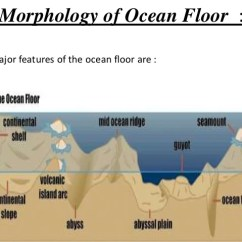 Ocean Floor Profile Diagram Molex To 6 Pin Wiring Morphology Of