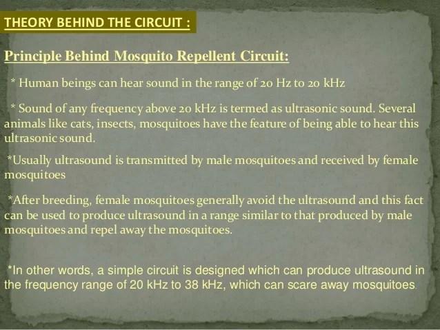 Simple Electronic Mosquito Repellent Circuit Diagram