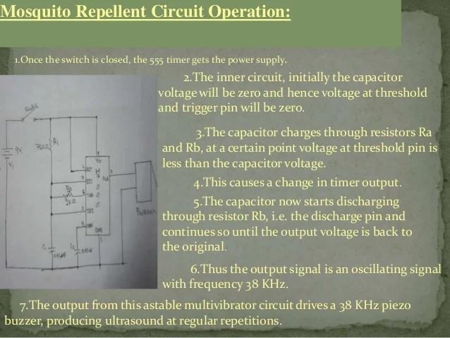 Electronic Mosquito Repellent Circuit Diagram Using Ic 555