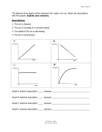 Printables. Graphing Motion Worksheet. Lemonlilyfestival