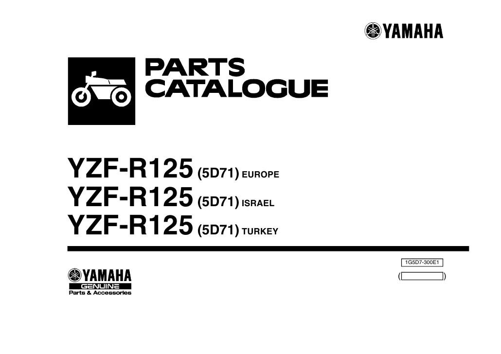 Luiz Martins: [Download 36+] Schema Elettrico Yamaha Yzf R125