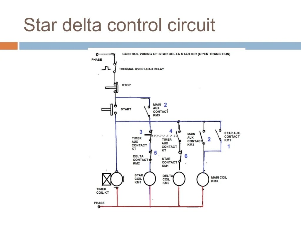 Motor Starter Control Wiring Diagram Trusted Diagrams Contactor Wye Delta On Basic Controls 5