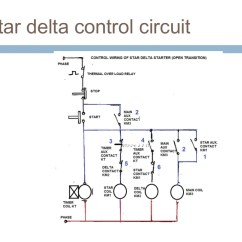 Star Delta Wiring Diagram Motor Wired Home Network Starter Control Impremedia