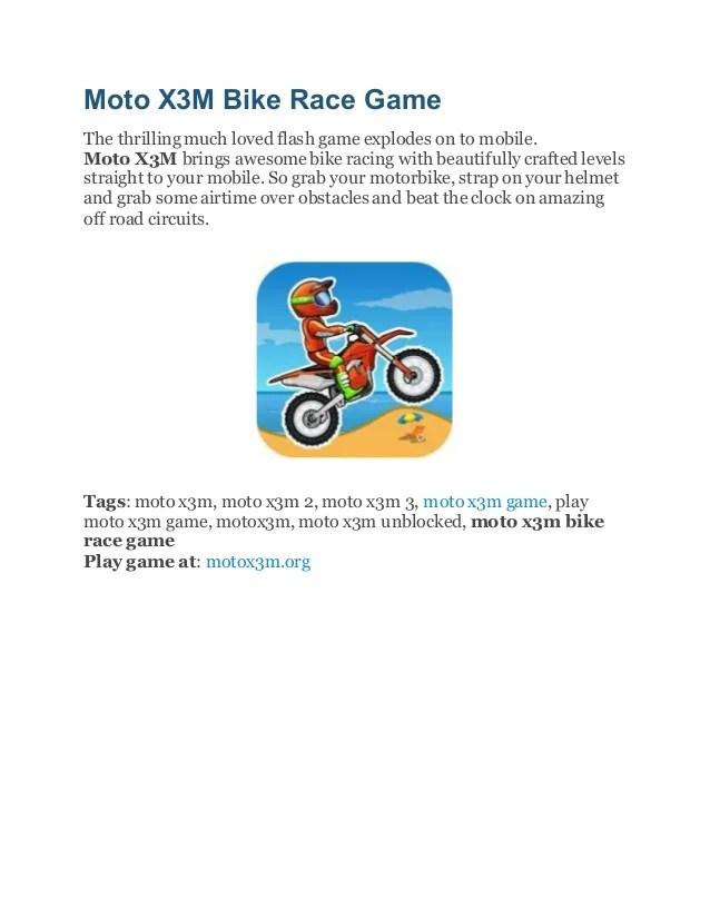 Moto X3m 3 Unblocked : unblocked, Games, Unblocked