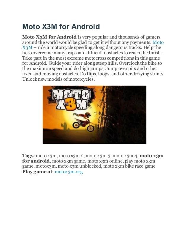 Moto X3m 3 Unblocked : unblocked, Speed, Unblocked