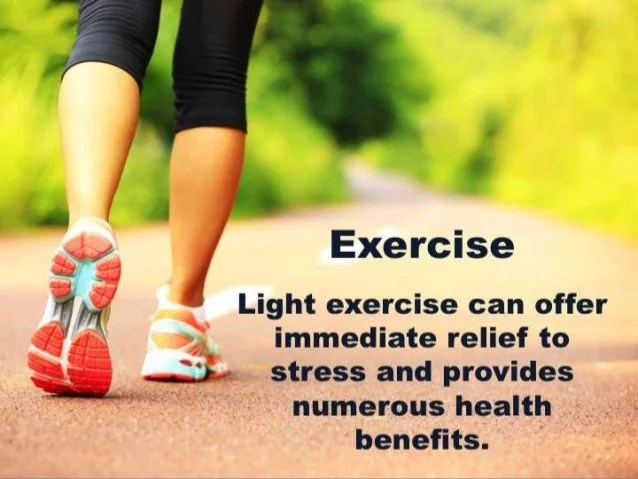 Image result for exercise reduces stress