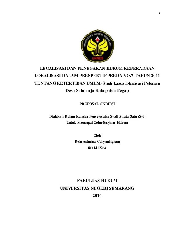 Contoh Judul Skripsi Hukum Normatif Contoh Etc Cute766
